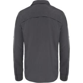 The North Face Sequoia Bluzka z długim rękawem Mężczyźni, asphalt grey/mid grey